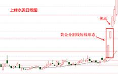 杨凯-黄金分割线-上峰水泥-3个交易日-涨幅25%